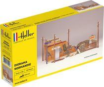 Diorama d'une ruine en Normandie 1/35 - Heller 81250
