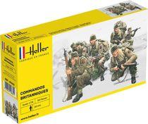 Figurines militaires : Britische Kommandotruppen - 1/72 - Heller 49632