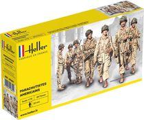 Figurines militaires : US Fallschirmjäger - 1/72 - Heller 49651