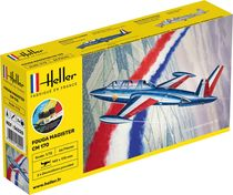 Maquette avion : Starter Kit Fouga Magister CM 169 - 1:72 - Heller 56220