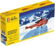Maquette Hélicoptère Français : Alouette III Sécurité Civile - Heller 80289