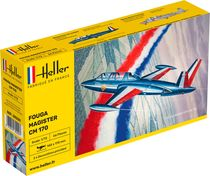Maquette d'avion militaire : Fouga-Magister - 1/72 - Heller 80220