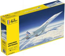 "Maquette avion civil : Concorde ""Air France""- Heller 80445"
