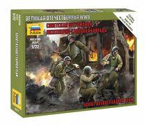 Figurines militaires : Sapeurs d'Assaut Soviétiques - 1/72 - Zvezda 06271 6271