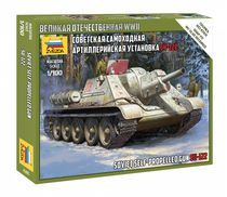 Maquette militaire : SU-122 - 1/100 - Zvezda 6281 06281