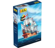 Maquette voilier : Starter Kit Golden Hind - 1:96 - Heller 56829