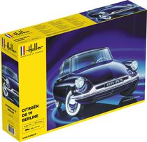Maquette voiture : Citroën DS 19 - 1:16 - Heller 80795
