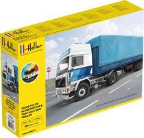 Maquette de camion : Volvo F12-20 G.T.1 & Twin Semi - 1/32 - Heller 57703