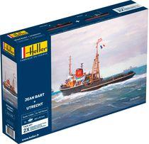 Maquette bateau : Jean Bart + Utrecht Twinset - 1:200 - Heller 85602