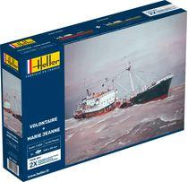 Maquette bateaux : Volontaire Marie + Marie Jeanne Twinset - 1:200 - Heller 85604