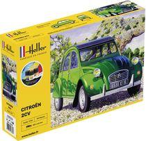 Maquette de la voiture Citroen 2 CV - Heller 56765