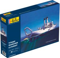 Maquette bateau : Le Suroit - 1/200 - Heller 80615