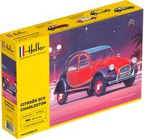 Maquette voiture : Citroën 2CV Charleston - Heller 80766