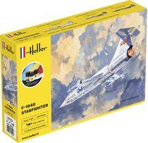 Maquette avion : Starter kit  F-104G Starfighter - 1:48 - Heller 35520