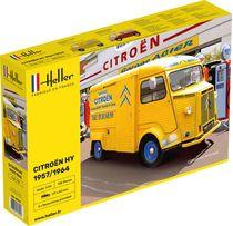 Maquette voiture de collection : Citroën HY 57/64 Service Citroën - 1/24 - Heller 80744