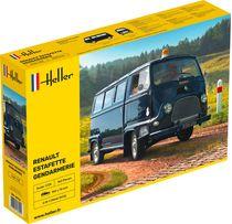 Maquette voiture Renault Estafette gendarmerie - 1:24 - Heller 80742