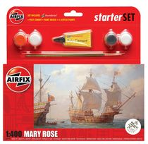 Maquette voilier : Starter Set Mary Rose - 1:400 - Airfix 55114 055114 - france-maquette.fr