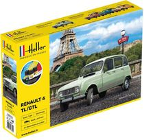 Maquette voiture de collection : Renault 4L GTL - 1/24 - Heller 56759