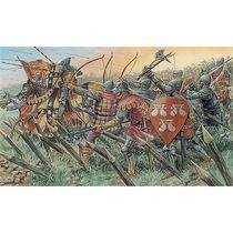 Maquette de Chevaliers et archers anglais - Italeri 06027