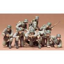 Figurines militaires : Panzer grenadiers allemands - 1/35 - Tamiya 35061