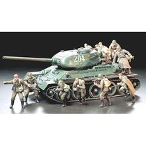 Figurines militaires : Infanterie d'assaut russe - 1/35 - Tamiya 35207