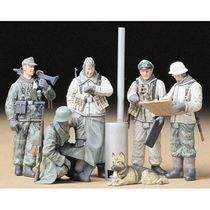 Figurines militaires : Soldats allemands au briefing - 1/35 - Tamiya 35212