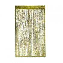 Accessoires modélismes : Micro Gabarit Imitation Bois - Artesania Latina 27322