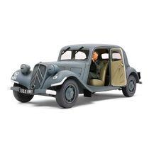 Maquette de Berline Française : Citroen Traction Avant 11CV - 1/35 - Tamiya 35301