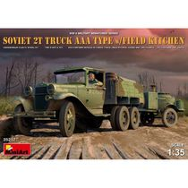 Soviet 2T Truck AAA Type w/Field Kitchen - Miniart 35257- 1/35