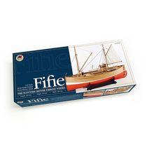 Maquette bateau bois - Bateau de pêche Ecossais Fifie - Amati 1300/09