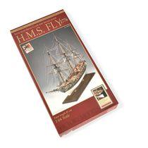 Maquette kit de bateau en bois - H.M.S. FLY Trois Mats Britannique - Amati 1300/03