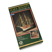 Maquette navire en bois : H.M.S. Bounty - 1/60 - Amati B1432 1432