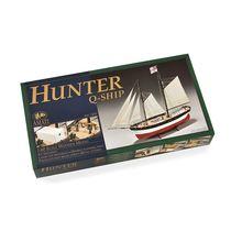 Maquette navire en bois : Hunter Q-Ship - 1/60 - Amati B1450 1450