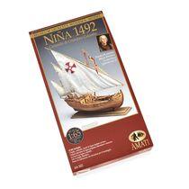 Maquette navire en bois : Niña - 1/65 - Amati B1411 1411