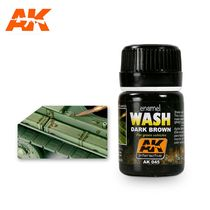 Dark Wash For Green Vehicles - Ak Interactive AK045