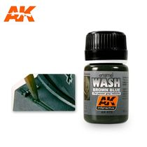 Wash For Panzer Grey - Ak Interactive AK070