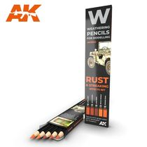 Watercolor pinceaux Set Rust And Streaking - Ak Interactive AK10041