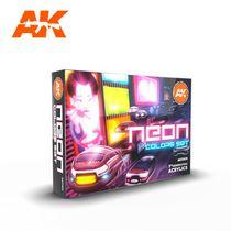 Neon Colors Set - Ak Interactive AK11610