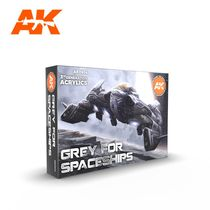 Grey For Spaceships Set - Ak Interactive AK11614