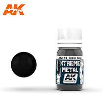 Xtreme Metal Black Base - Ak Interactive AK471