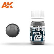 Xtreme Metal Steel-acier - Ak Interactive AK476