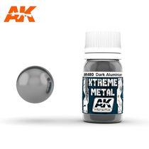 Xtreme Metal Dark noir Aluminium - Ak Interactive AK480