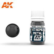 Xtreme Metal Gun Metal - Ak Interactive AK483