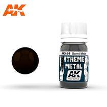 Xtreme Metal Burnt metal Métal brûlé - Ak Interactive AK484