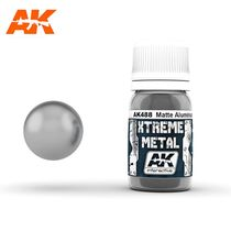 Xterme Metal Matte Aluminium - Ak Interactive AK488