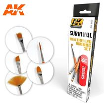 Survival Weathering set de brosses - Ak Interactive AK663