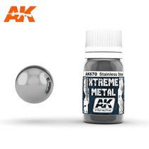 Xtreme Metal Stainless Steel Acier inoxydable  - Ak Interactive AK670