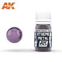 Xtreme Metal Metallic Purple Violet - Ak Interactive AK674