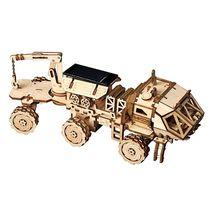 Puzzle 3D / Maquette bois : Robot d'exploration Navitas Rover - Robotime LS50 LS504