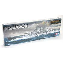 Maquette de navire militaire : Cuirassé Bismarck - 1/350 - Tamiya 78013